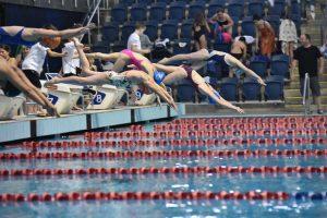 תחרות שחייה אולימפיאדת הילדים 2019