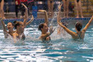 תחרות שחיה אומנותית א. הילדים 2021